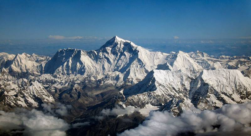 Mount Everest facts for kids