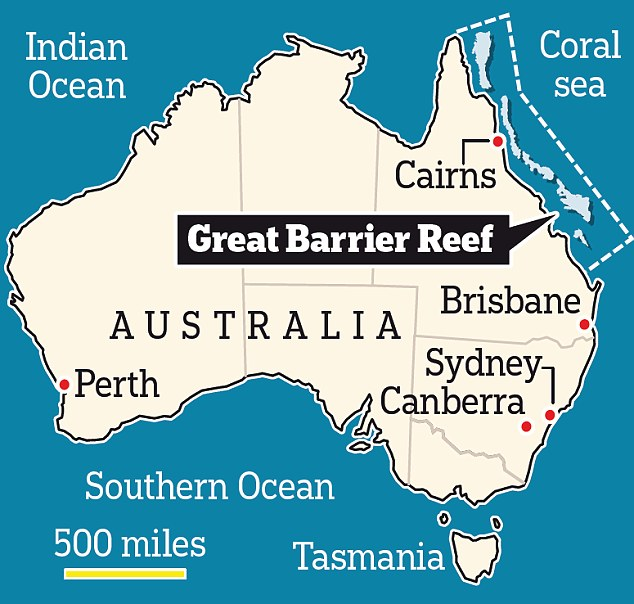 Barrier Reef Australia Map.Great Barrier Reef Facts For Kids Largest Coral System In The World