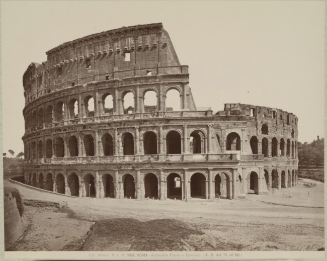Colosseum pic - Colosseum facts for kids